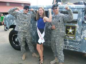 Lauren Kuhn and Military